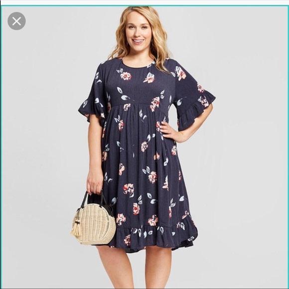 Isabel Maternity by Ingrid & Isabel Dresses & Skirts - Black swing maternity dress